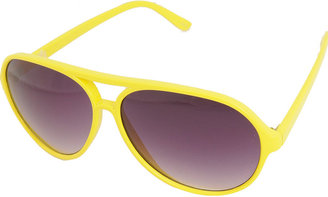 F5804 Sunglasses - Plastic Neon Sunglasses