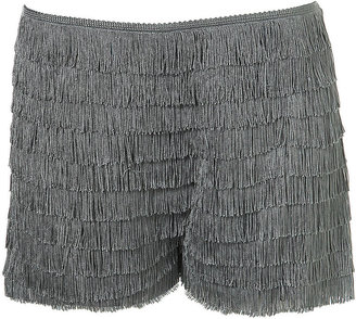 All  Over Fringed Shorts - Pants &amp; Shorts