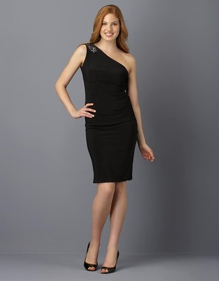 Xscape Matte Jersey One-Shoulder Dress - The One Shoulder Evening Dress