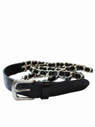 The Belt By Joes Jeans Chain Gang - Metallic Belt