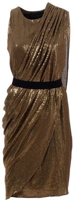 LA PETITE S***** - Draped sequin dress - Dress Like a Celebrity
