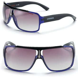 Carrera Bridge Shield Sunglasses - Shield Wrap Sunglasses