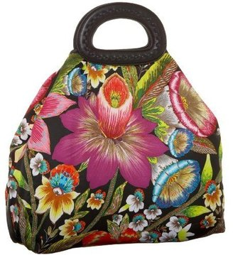 ECHO Tropical Paradise Handheld Tote - Flower Print Handbags