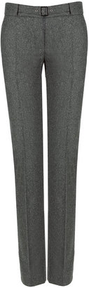 Philosophy di Alberta Ferretti Grey Pinstriped Pants - Philosophy di Alberta Ferretti
