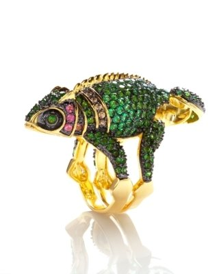 Noir Iguana Ring - Decorative Rings