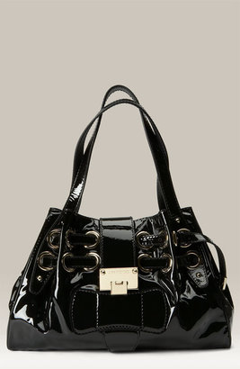 Jimmy Choo &#39;Riki&#39; Patent Leather Shopper - Handbags