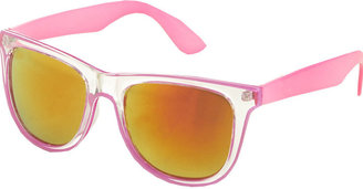 Neon Retro Sunglass - Plastic Neon Sunglasses