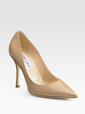 Jimmy Choo Lilac Point-Toe Pumps - Pumps