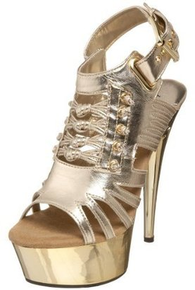 The Highest Heel Women&#39;s Gladiator Open Toe Platform - Platform Sandals
