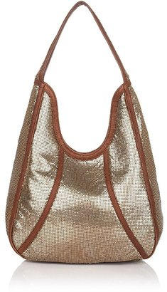Isabella Fiore Leila Mesh Hobo - Metallic Hobo