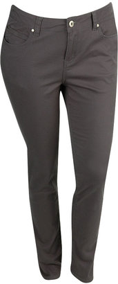 Faith21 Skinny Twill Pant - Forever 21