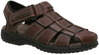 Clarks Men&#39;s Jensen Leather Fisherman - Leather Sandals for Men