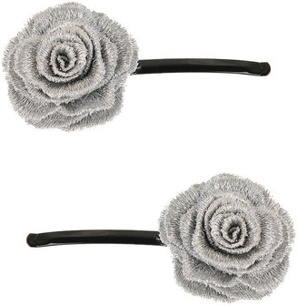 Rosette Bobby Pin - Hair Pin