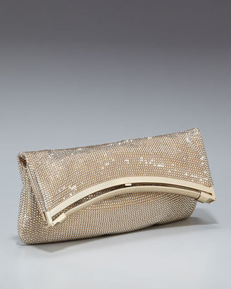 Judith Leiber Crystal Foldover Clutch - Judith Leiber