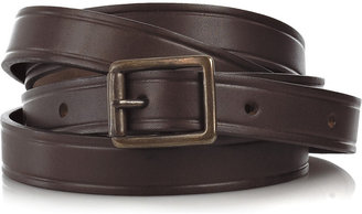 RM by Roland Mouret Rouclere leather wrap-around belt - Leather Belt