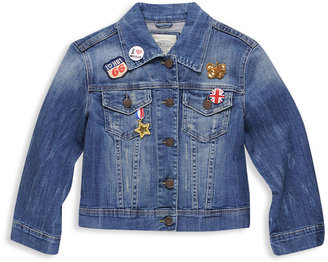 Heritage 1981 Cropped Denim Jacket - Outerwear
