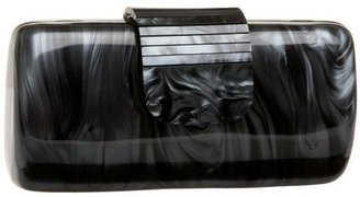 Jessica McClintock Rectangle Fold Over Box Clutch - Contemporary Box Clutch