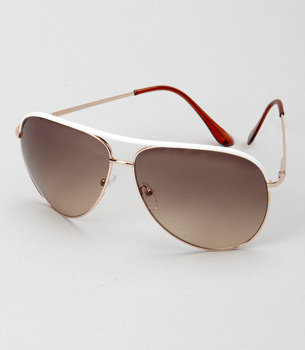Gold Blake aviators - Fred Flare