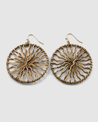 Cherie Wavy Wheel Earring - Jewelry