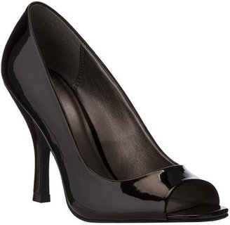Women's Mossimo® Vesselina Peep-Toe Pumps - Black Patent - Peep Toe Pumps