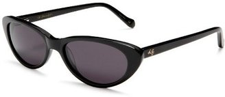 Lulu Guinness Women&#39;s Dora Sunglasses - Retro Cateye Sunglasses