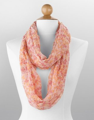 Echo Prairie Floral-Print Infinity Loop Scarf - Accessories