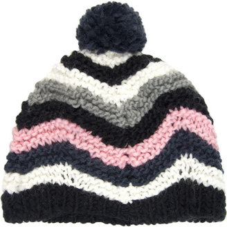 Striped Womens Beanie - Hats
