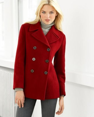 Calvin Klein Double Breasted Pea Coat - Outerwear