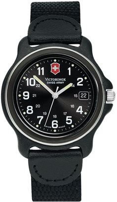 Victorinox Swiss Army &#39;Original Dial&#39; Watch - Black Dial Watches for Men