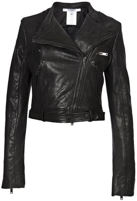 GIVENCHY - Leather motorcycle jacket - Givenchy