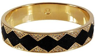House Of Harlow Star Burst Bangle In Black -  Bohemian Jewelry