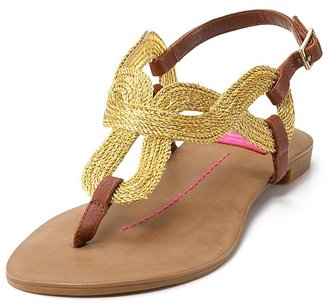 DV Dolce Vita &quot;Osorno&quot; Rope Sandals - Rope Embellishments