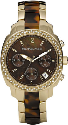 Michael Kors Crystal Chronograph Watch - Must Have Michael Kors Watches