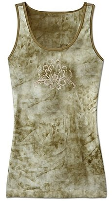 Seamless Tie-Dye Tank - Athletic Tanks