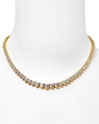 Crislu &quot;Riviera&quot; Graduated Tennis Necklace, 16&quot;L; 25.8 ct. t.w. - Diamond Tennis Necklace
