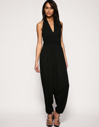 French Connection Hareem Halter Jumpsuit - Jumpsuit