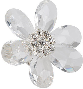 Grandiose Flower Ring - Clearly Amazing 