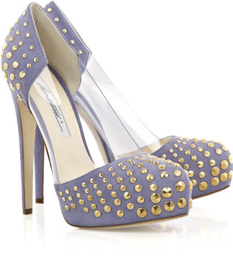 Brian Atwood Loca studded pumps - Hidden Platform Pumps