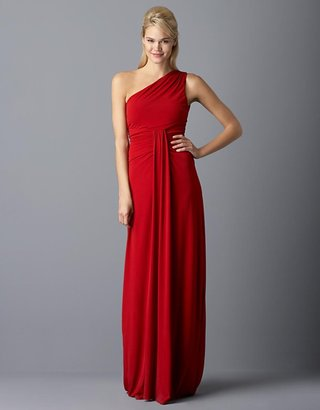 A.b.s. By allen schwartz Debra One-Shoulder Gown - The One Shoulder Evening Dress