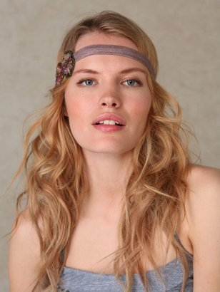 Beaded Beach Applique Headband - Hair Accessories