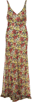 Floral Maxi Dress - Clothes