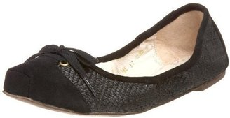 ALL BLACK Women&#39;s Bambini Ballet Flat - Shoes