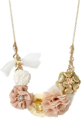 Tasha Flower Statement Necklace - Tasha
