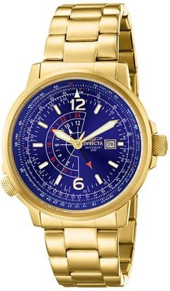 Invicta force stainless steel gold-tone chronograph sports watch - Incredibly Gold Watches for Men