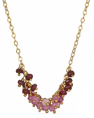 Catherine Weitzman Ruby Rocks Necklace - Catherine Weitzman Necklaces