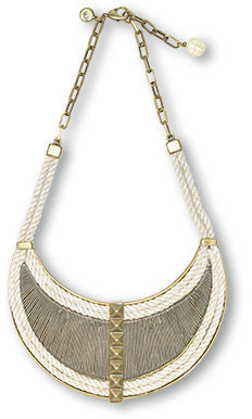 Rope Bib Necklace - Jewelry