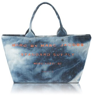 MARC BY MARC JACOBS Standard Supply Classic Denim Tote - Denim Trend - Spring 2010