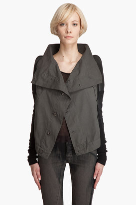 Rick owens drkshdw LEATHER Sleeve Jacket - Clothes