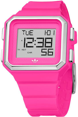 adidas &#39;Peach Tree&#39; Watch - Pink Digital Watches