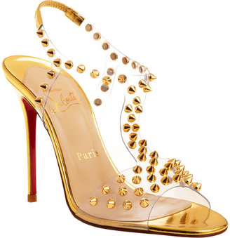 Christian Louboutin J-Lissimo - Gold - Gold Heels